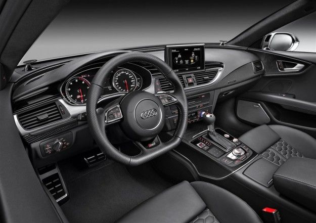 interni Audi RS7 Sportback