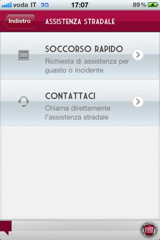iphone ciao fiat mobile