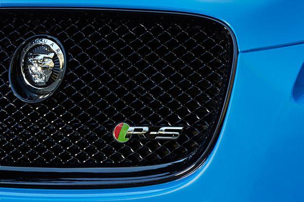 Jaguar XFR-S-fregio mascherina