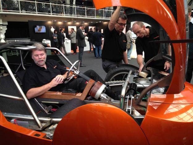auto realizzata con stampa 3D