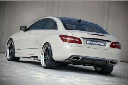 Kicherer Mercedes E50 Coupé coda