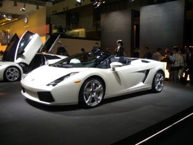 Lamborghini Gallardo Spider che è possibile noleggiare con la Maranello Service