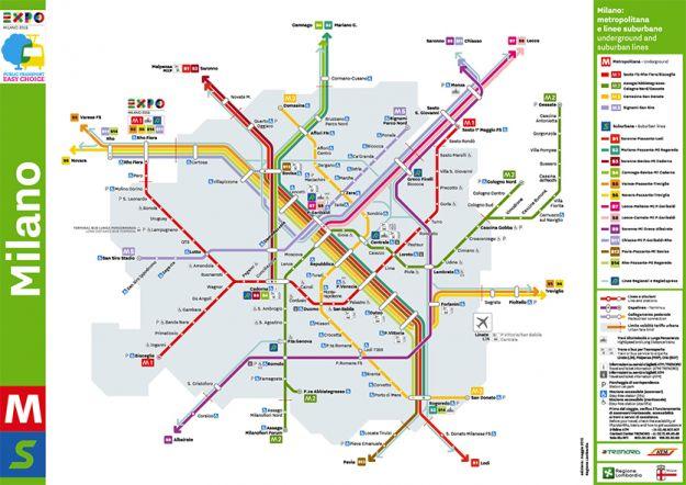 mappa metropolitana Expo Milano 2015