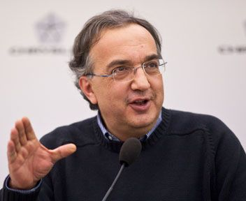 SERGIO MARCHIONNE CEO FIAT AND CHRYSLER GROUP
