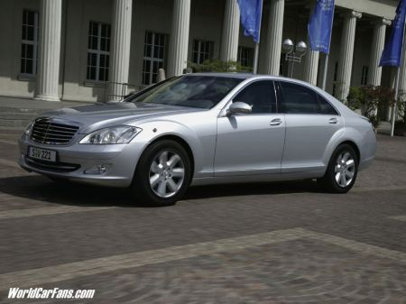 Mercedes Benz S600 Guard Twilight