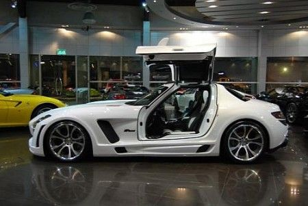 mercedes sls amg fab design laterale