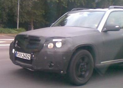 Foto Spia nuove Mercedes GLK