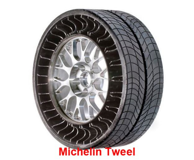 michelin tweel airless tire 2006 sq