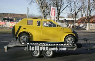Un prototipo della Mini?
