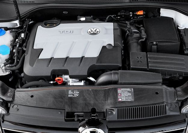 motore turbodiesel Tdi common rail Golf