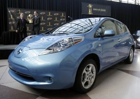 nissan leaf new york 2011