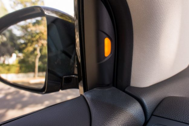 Nissan Murano 2013-dettaglio sistema veicoli angolo cieco