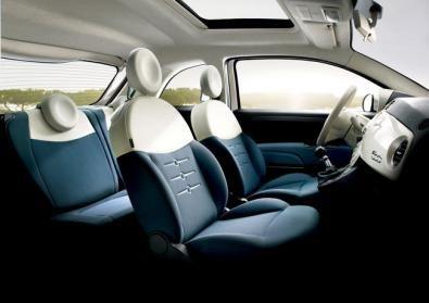 Interni Nuova Fiat 500