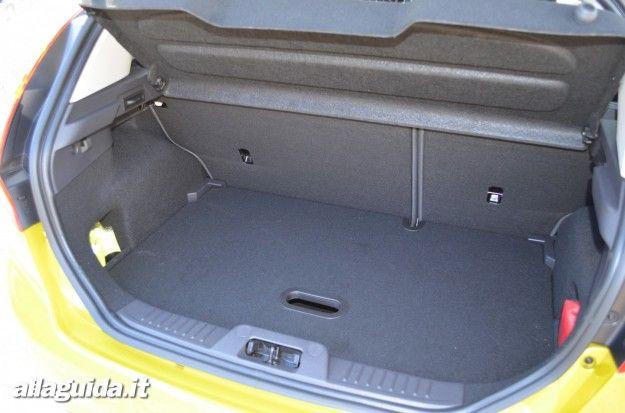 nuova ford fiesta 2013 bagagliaio
