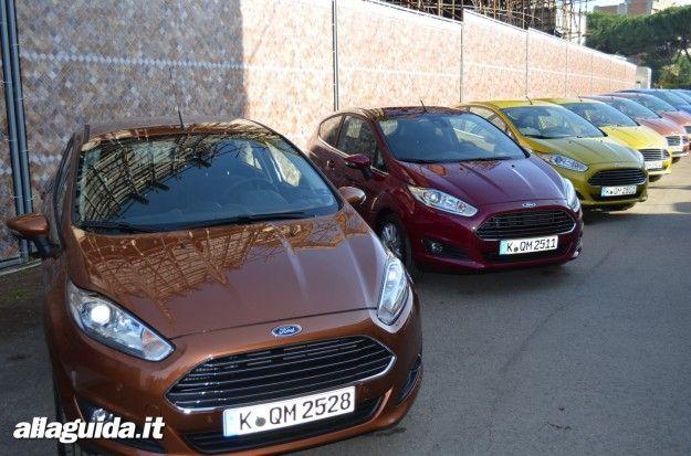 nuova ford fiesta 2013 colori