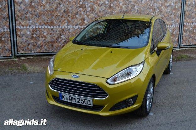 nuova ford fiesta 2013 design ed esterni