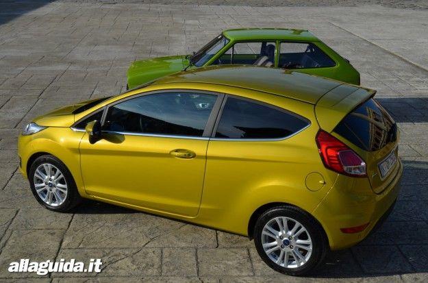 nuova ford fiesta 2013 dimensioni