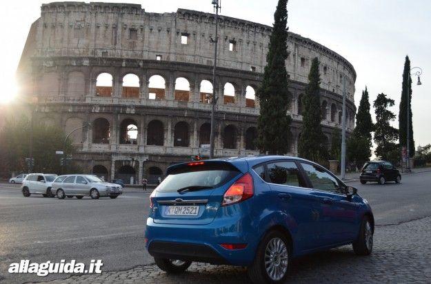 nuova ford fiesta 2013 prova su strada roma