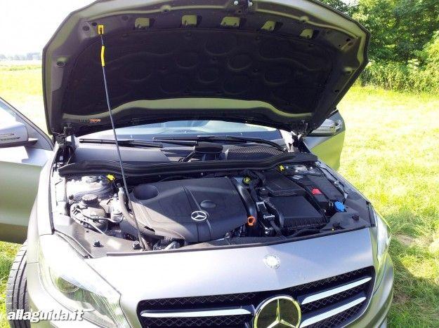 nuova mercedes classe a 2012 motore