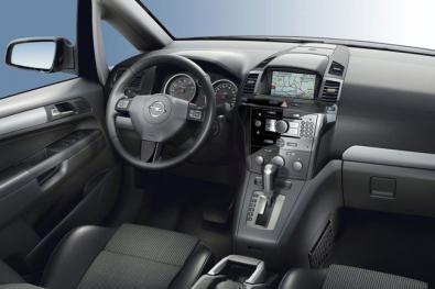 Nuova Opel Zafira interni