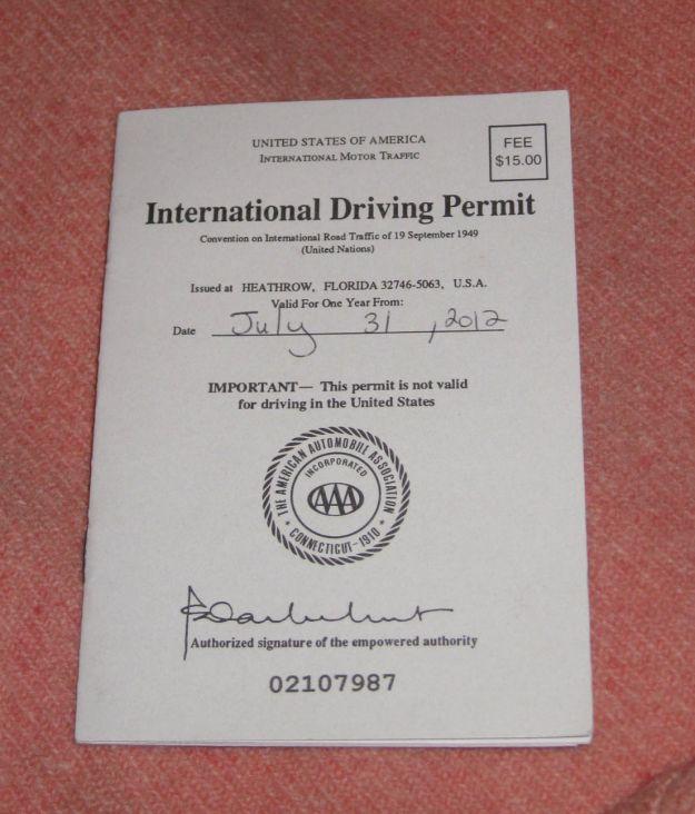 patente internazionale di guida validità usa australia