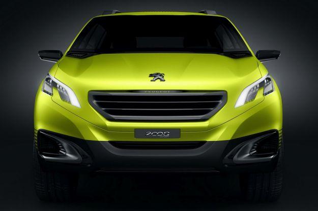 Peugeot 2008 Concept-frontale