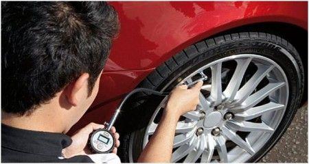 pneumatici auto controllo pressione