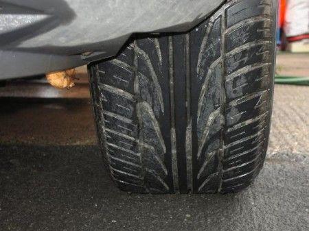 pneumatici auto stato di usura