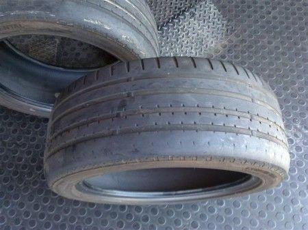 pneumatici auto usurati