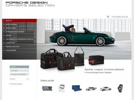 porsche design drivers selection