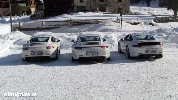 porsche parcheggiate