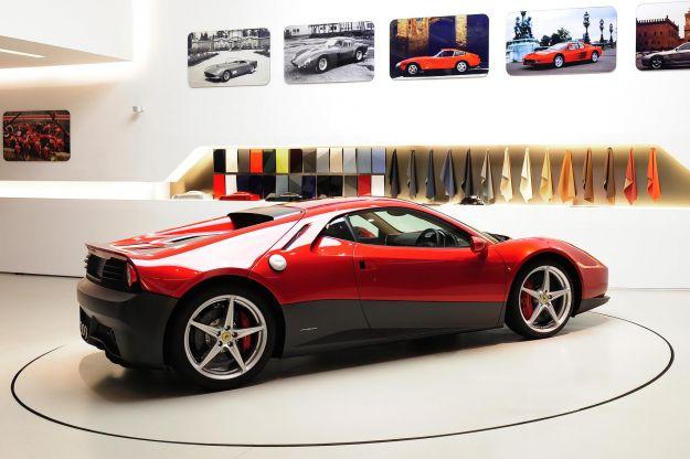 posteriore Ferrari SP12 EC, Clapton