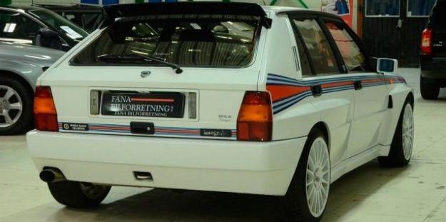 posteriore Lancia Delta serie limitata