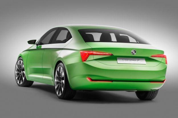 posteriore Skoda VisionC Concept
