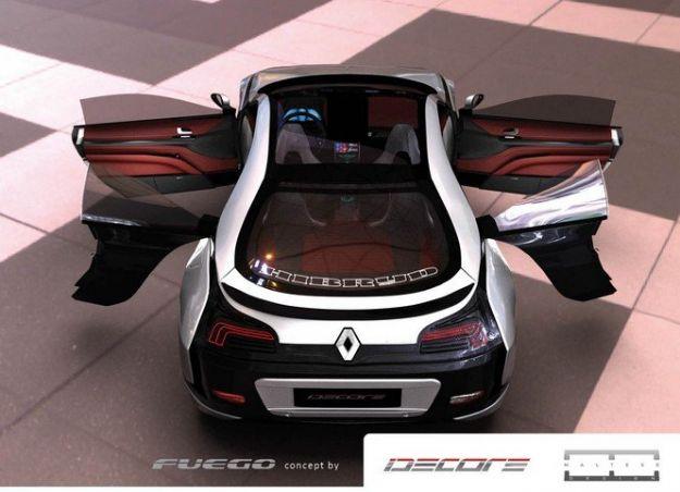 posteriore di Renault Fuego Concept 2014