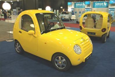 Auto elettrica cinese a Detroit