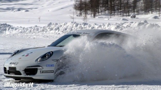 prova sulla neve