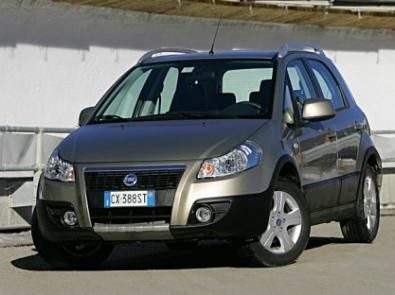 La Fiat Sedici