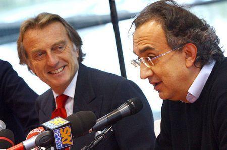 Sergio Marchionne e Luca di Montezemolo