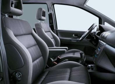 Volkswagen Sharan interni