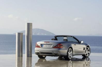 Nuova Mercedes SL