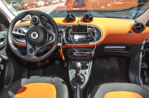 smart forfour interni