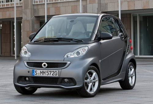 smart fortwo 2012 city car