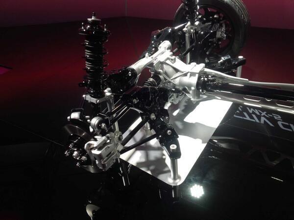 sospensione posteriore nuova Mazda MX 5