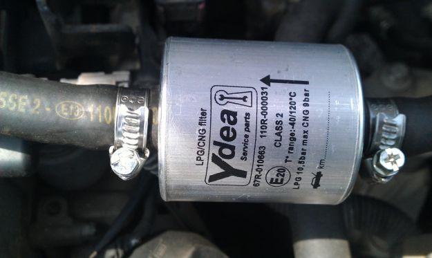 sostituzione filtro gpl filtro metano