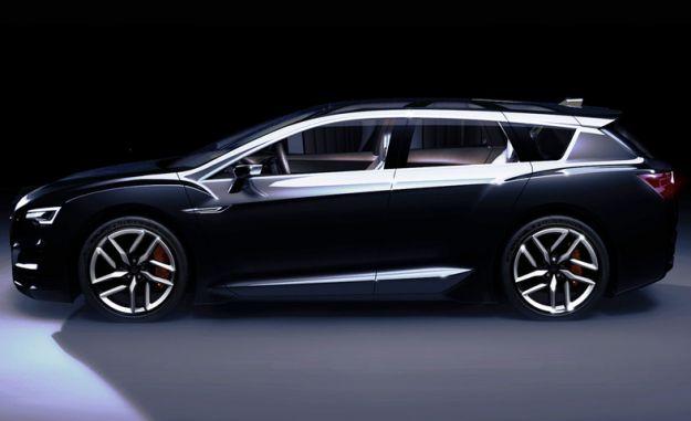 Subaru Advanced Tourer concept (lightened)