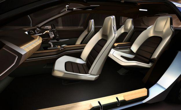 Subaru Advanced Tourer concept interior