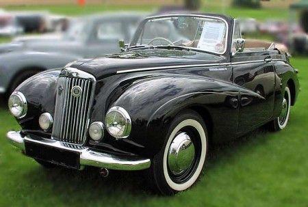 sunbeam talbot coupe 1950