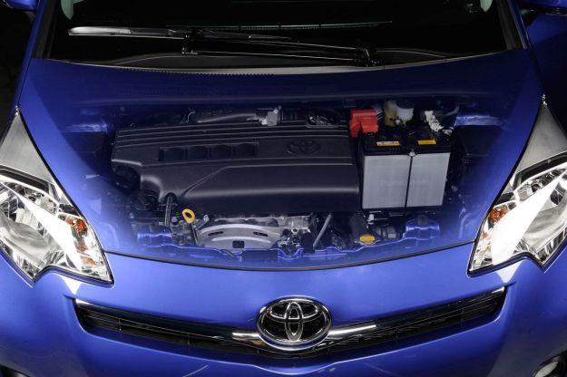 toyota verso s 2012 motore