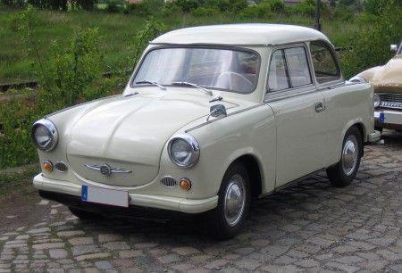trabant p50 1957